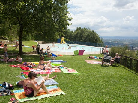 Zwembad camping Barco Reale