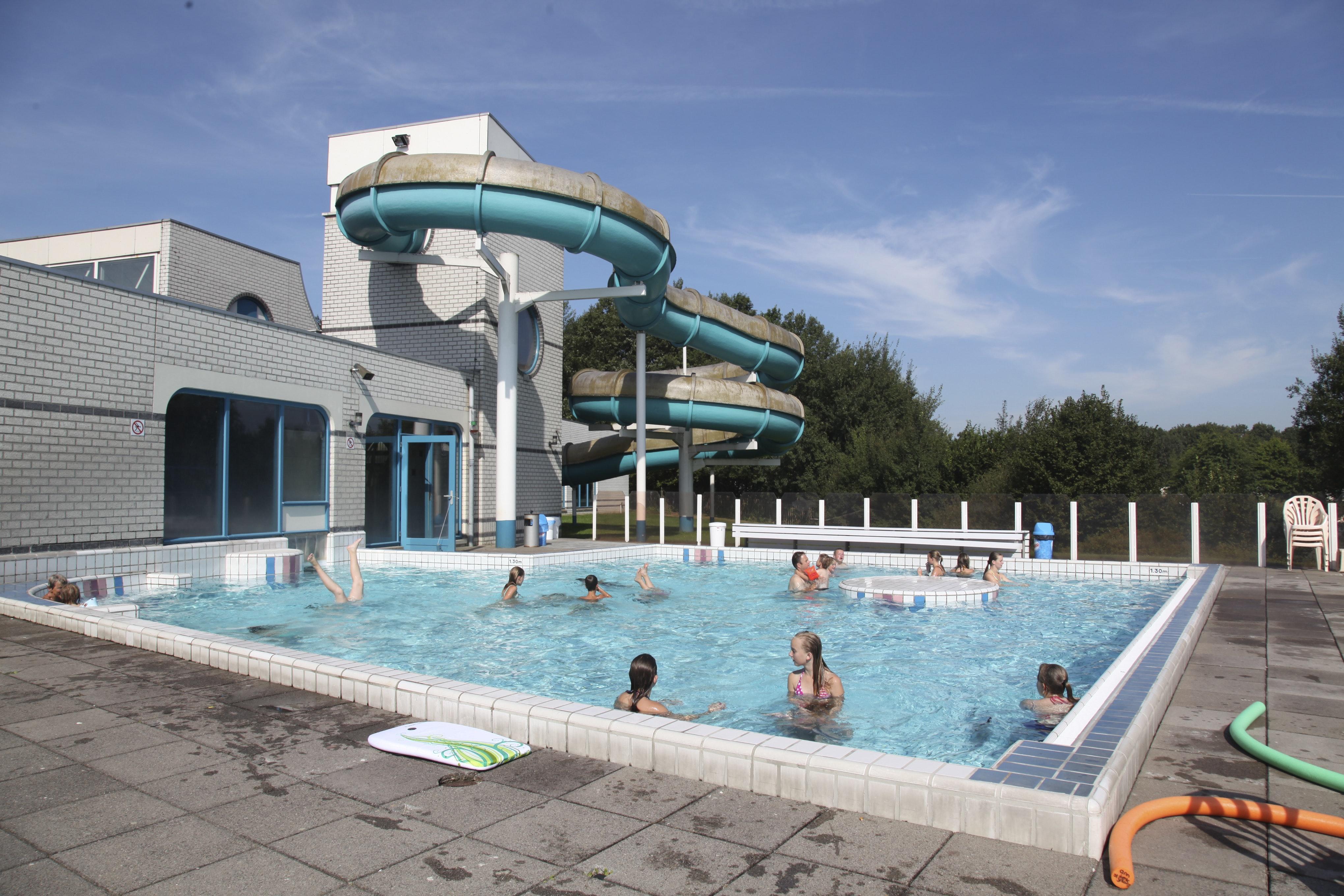 Zwembad camping Hunzedal