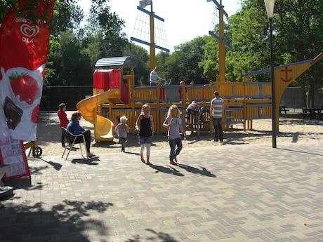 Speeltuin camping Kijkduinpark