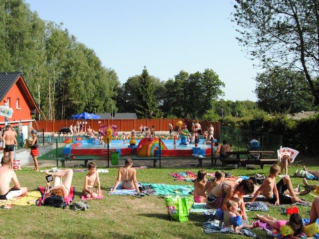 zwembad bij camping Fuussekaul