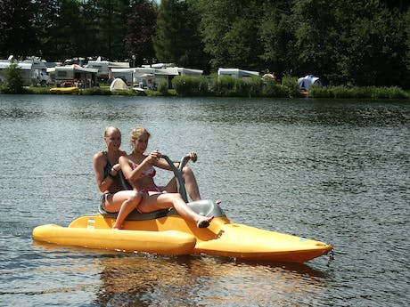 camping Natterer See waterfiets