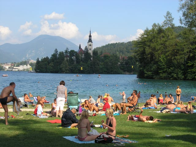 meer camping Bled