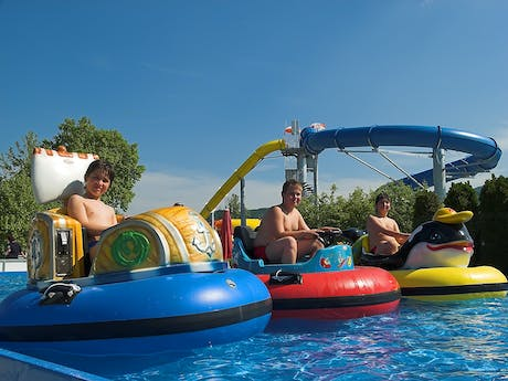 zwembad camping terme catez botsbootjes