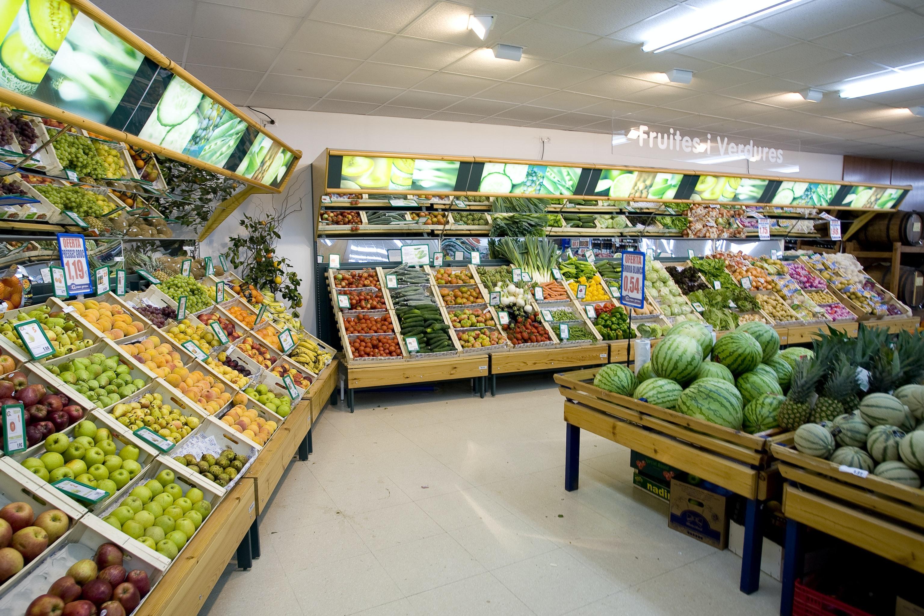 supermarkt camping El Delfin Verde