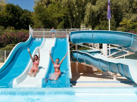 Waterglijbaan camping Domaine du Verdon