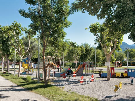 Speeltuin op camping Domaine du Verdon