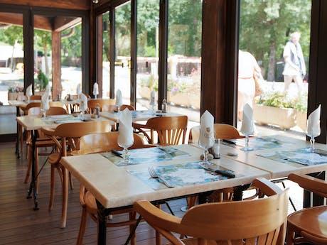 Restaurant camping Domaine du Verdon
