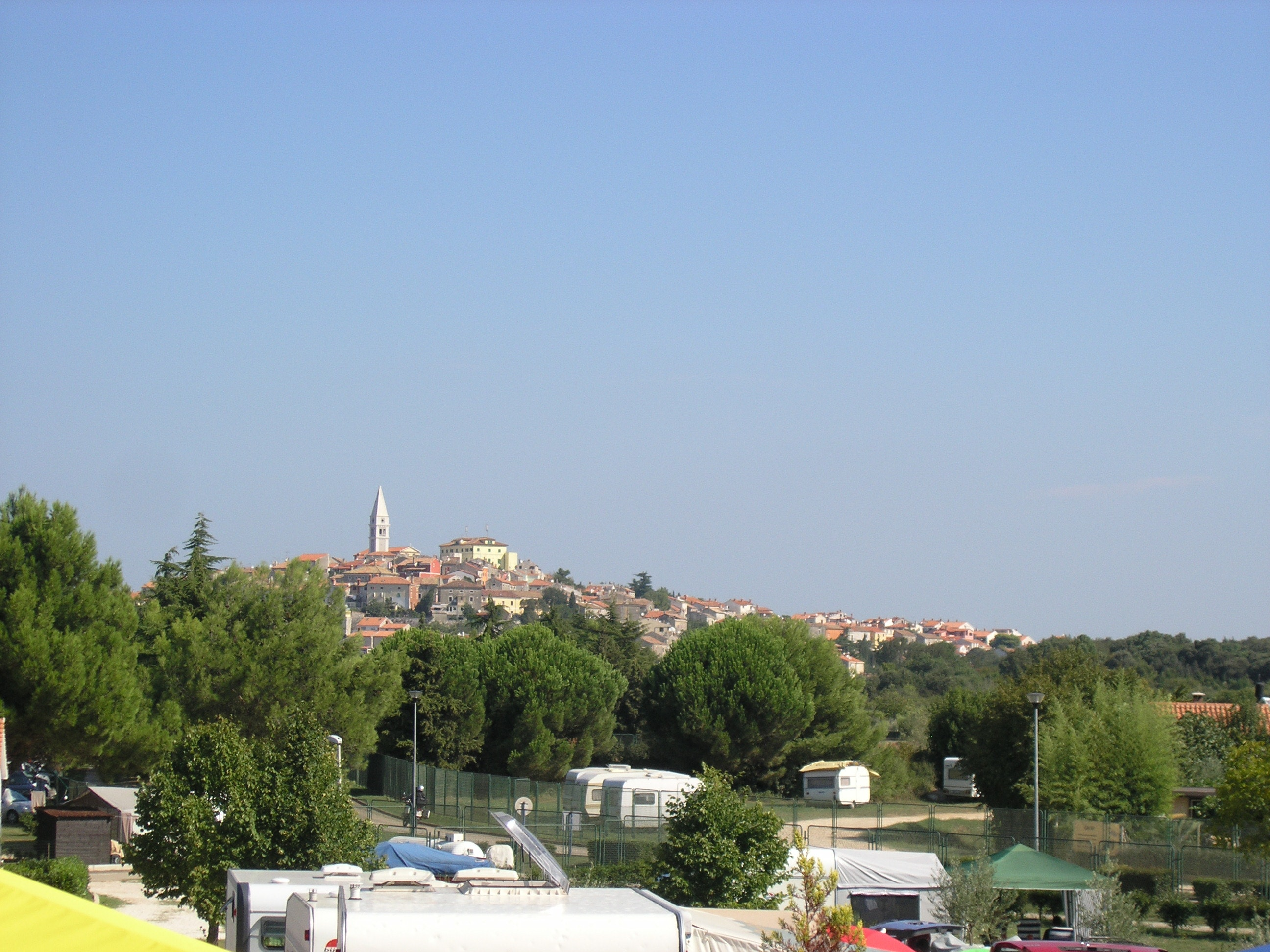 omgeving camping Porto Sole