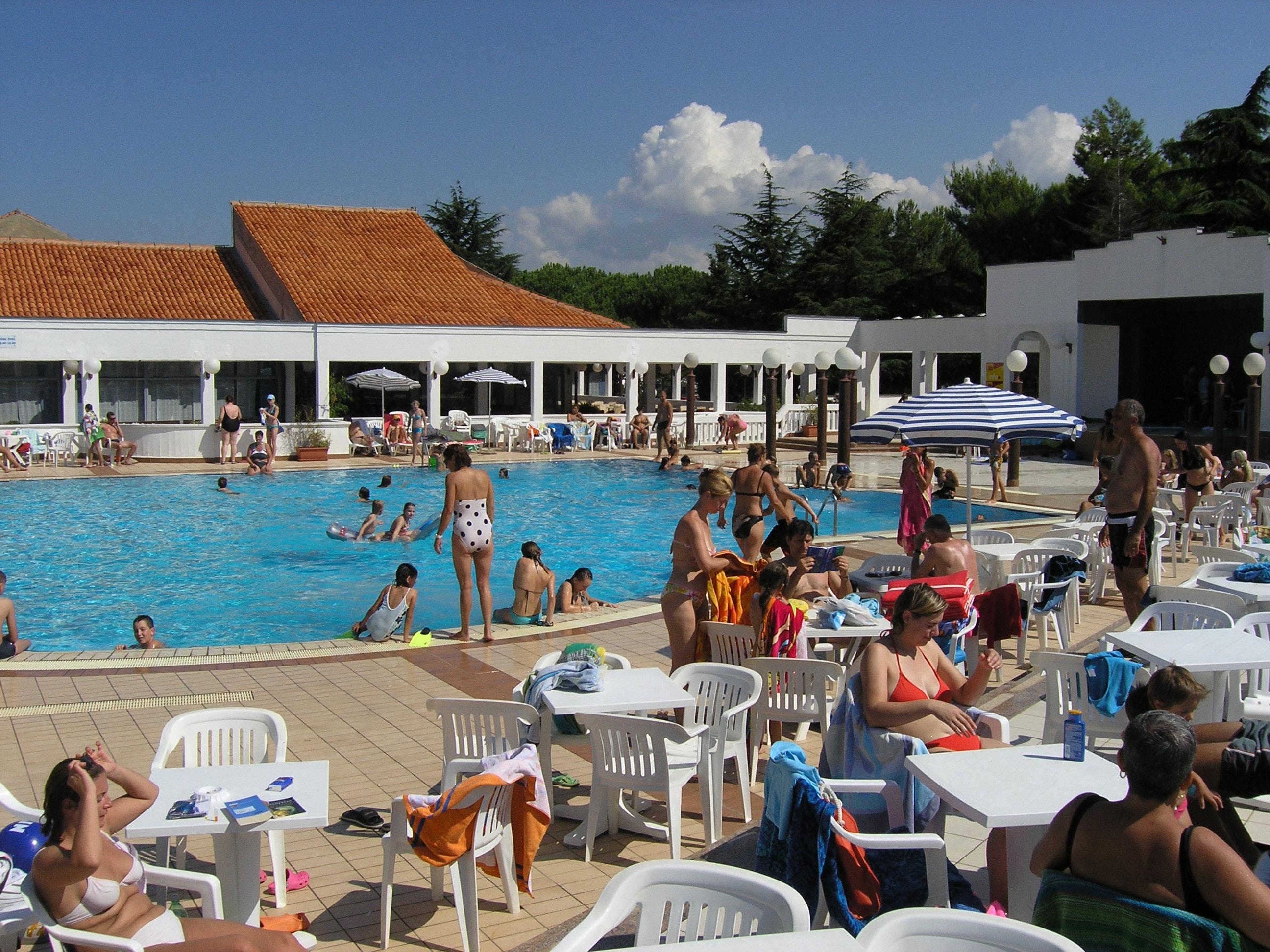 zwembad camping Porto Sole