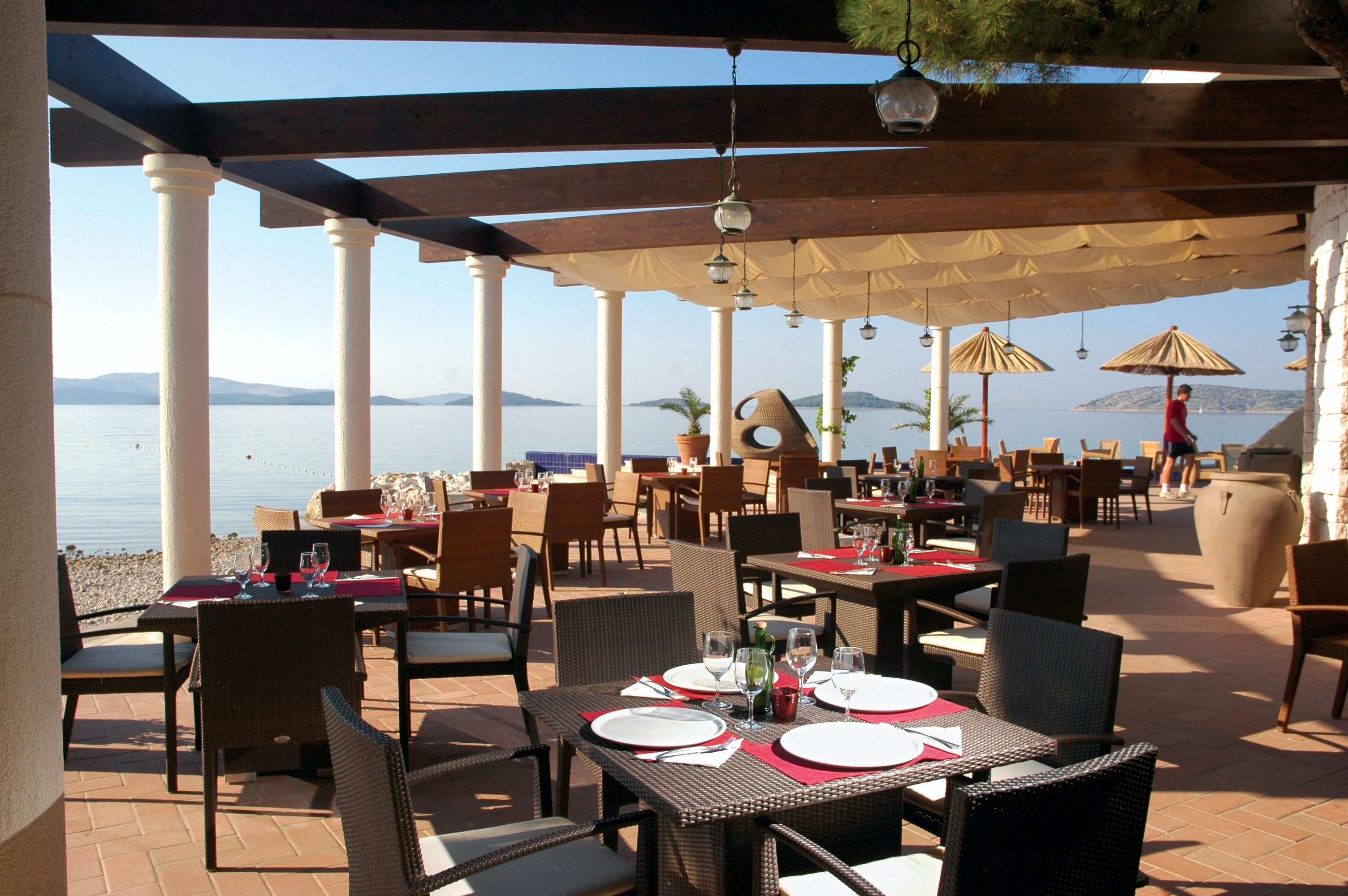 restaurant camping Solaris Beach Resort