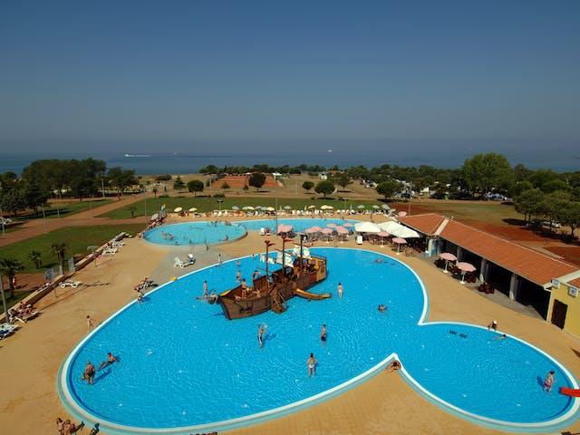 camping Park Umag zwembad