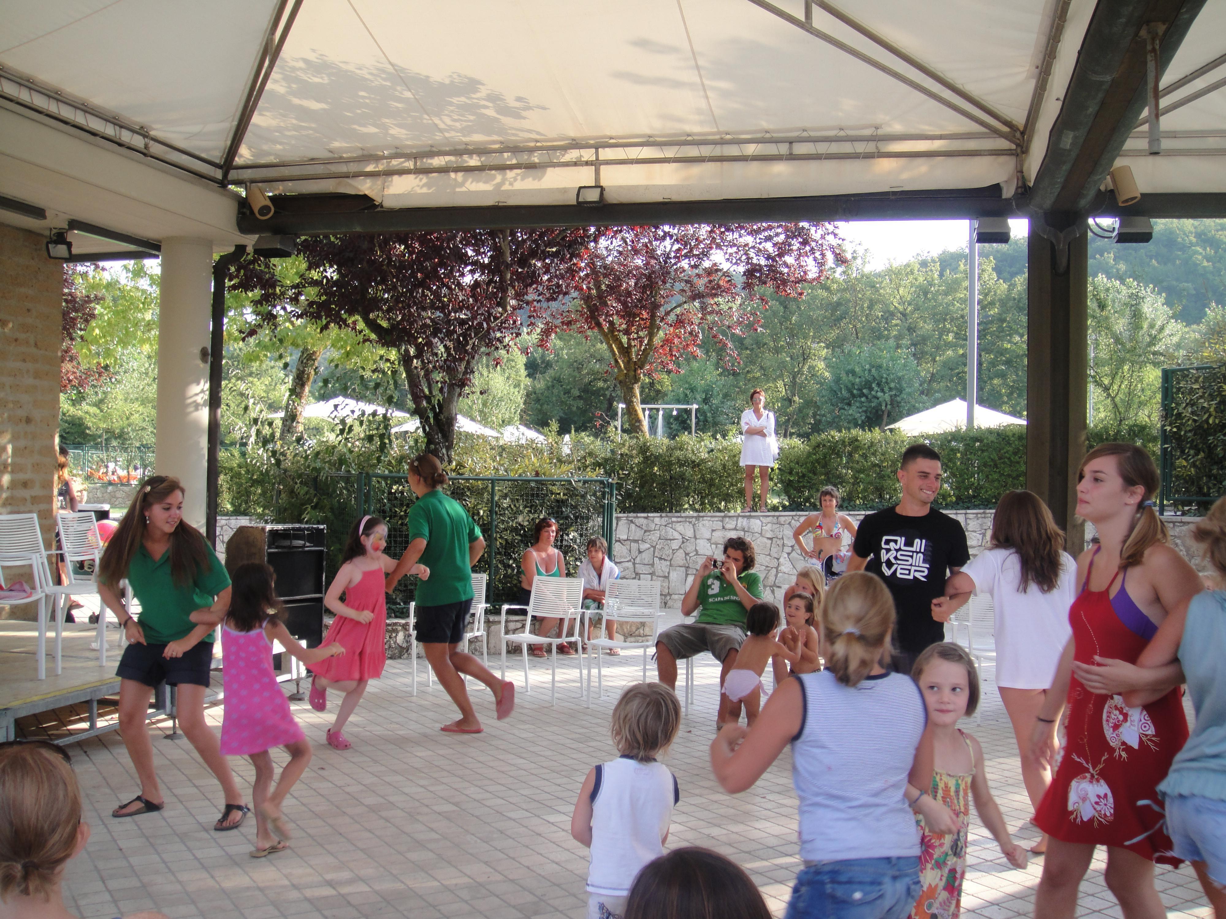 Animatie camping Parco delle Piscine