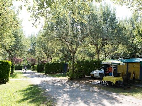 Bungalowtent Blue Parco delle Piscine straatj