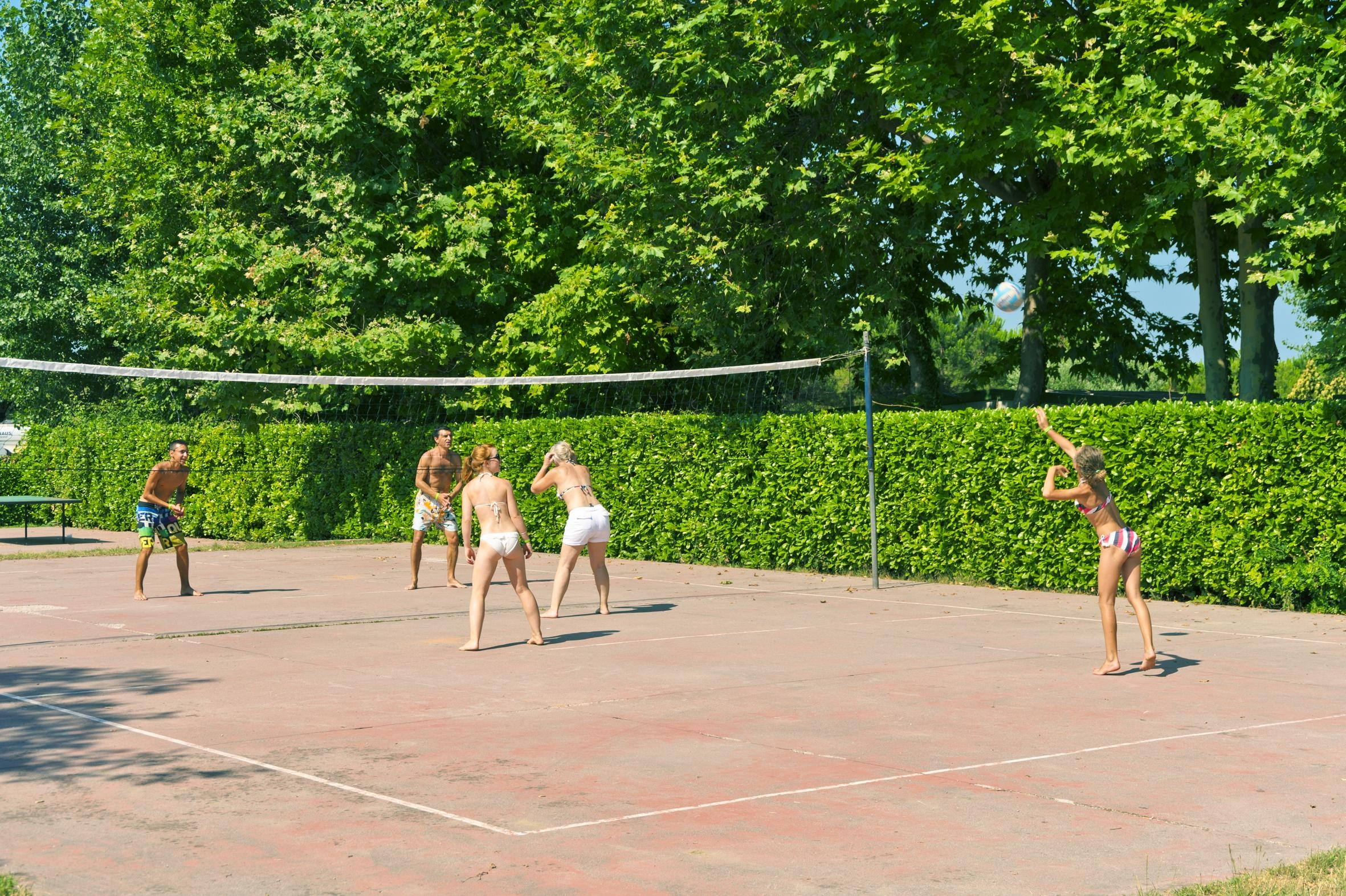 volleybal camping Eurocamping Pacengo