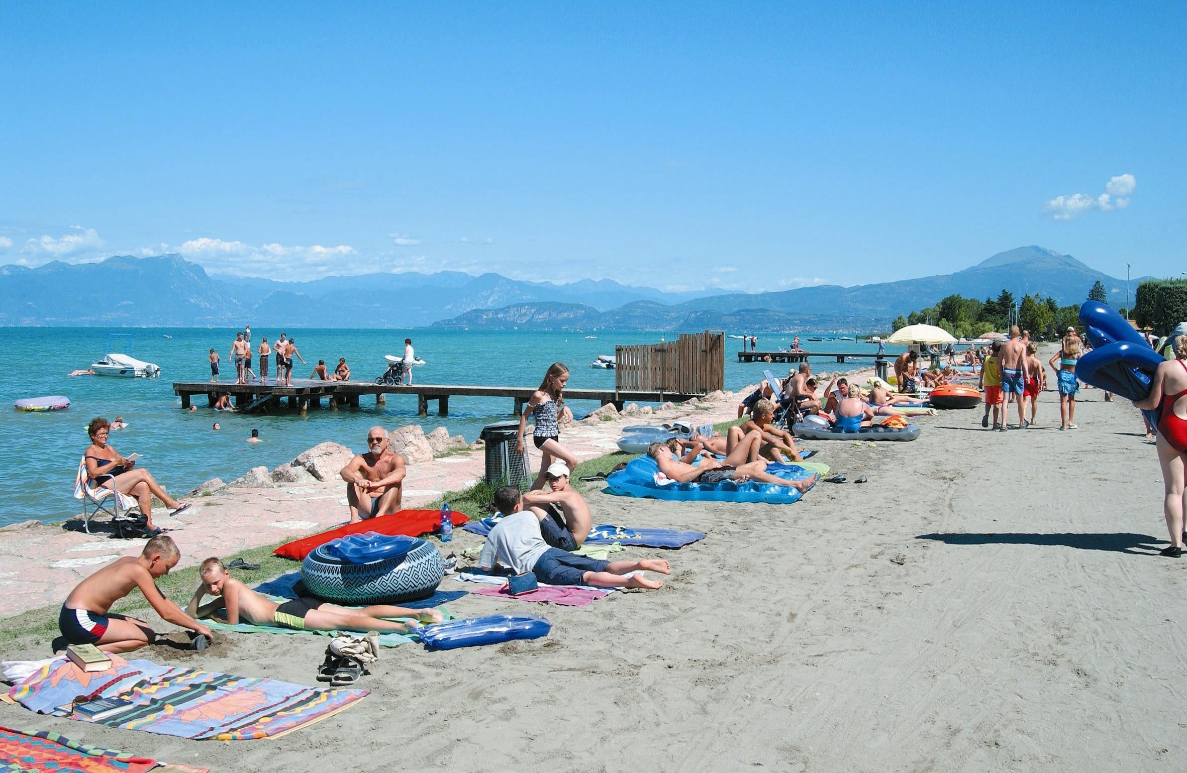 strand camping Del Garda