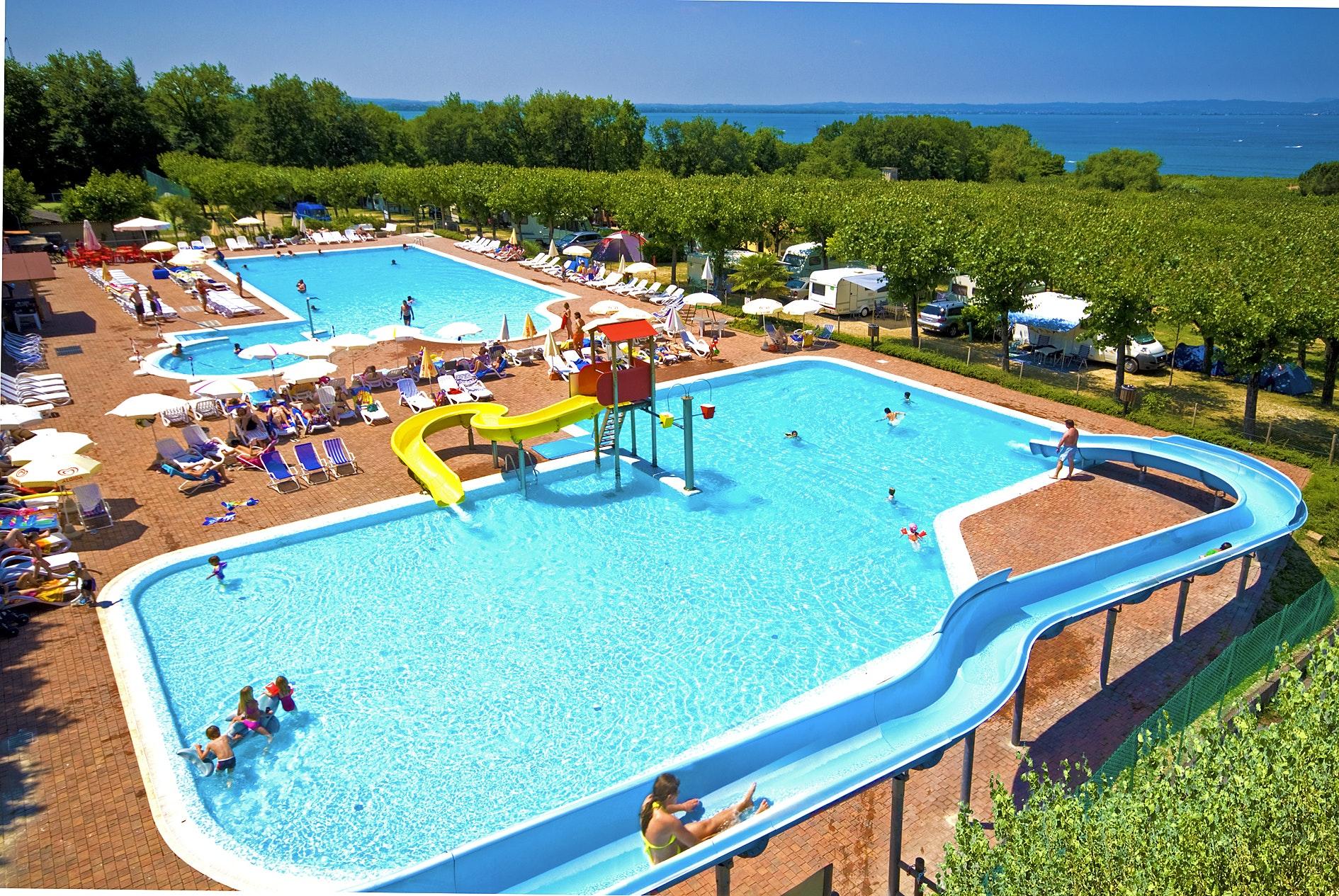zwembad camping Belvedere