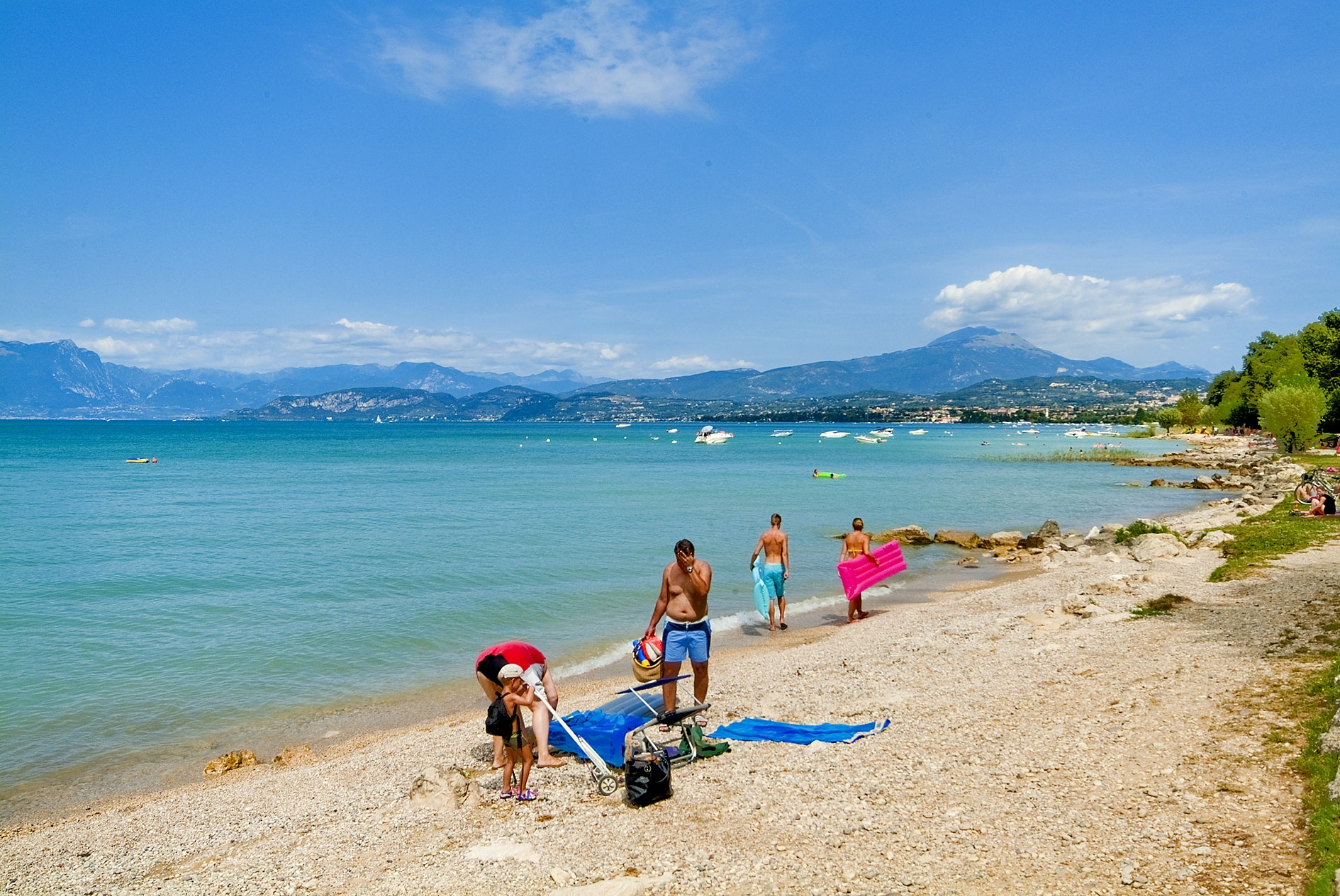 strand camping Belvedere