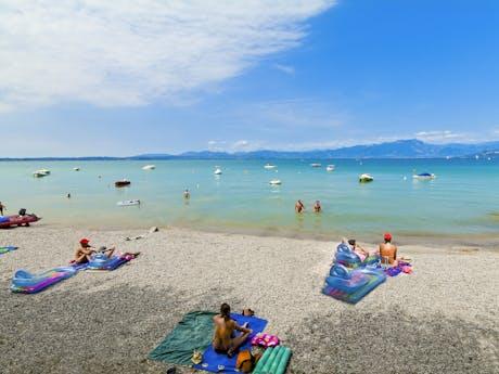 strand camping Belvedere