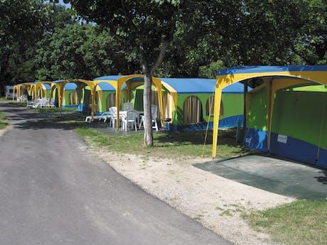 campingplekken camping Belvedere