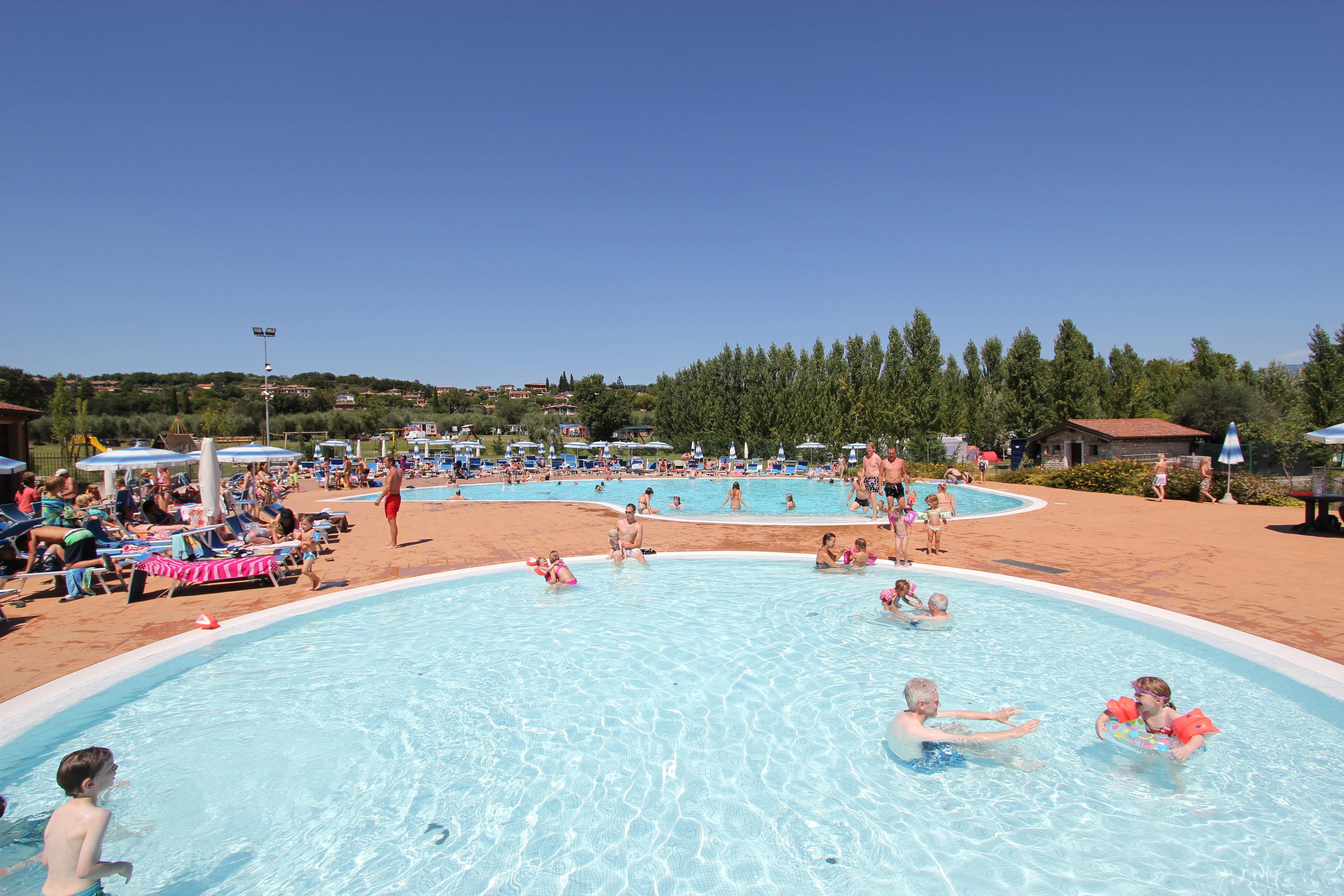 zwembad camping Piantelle