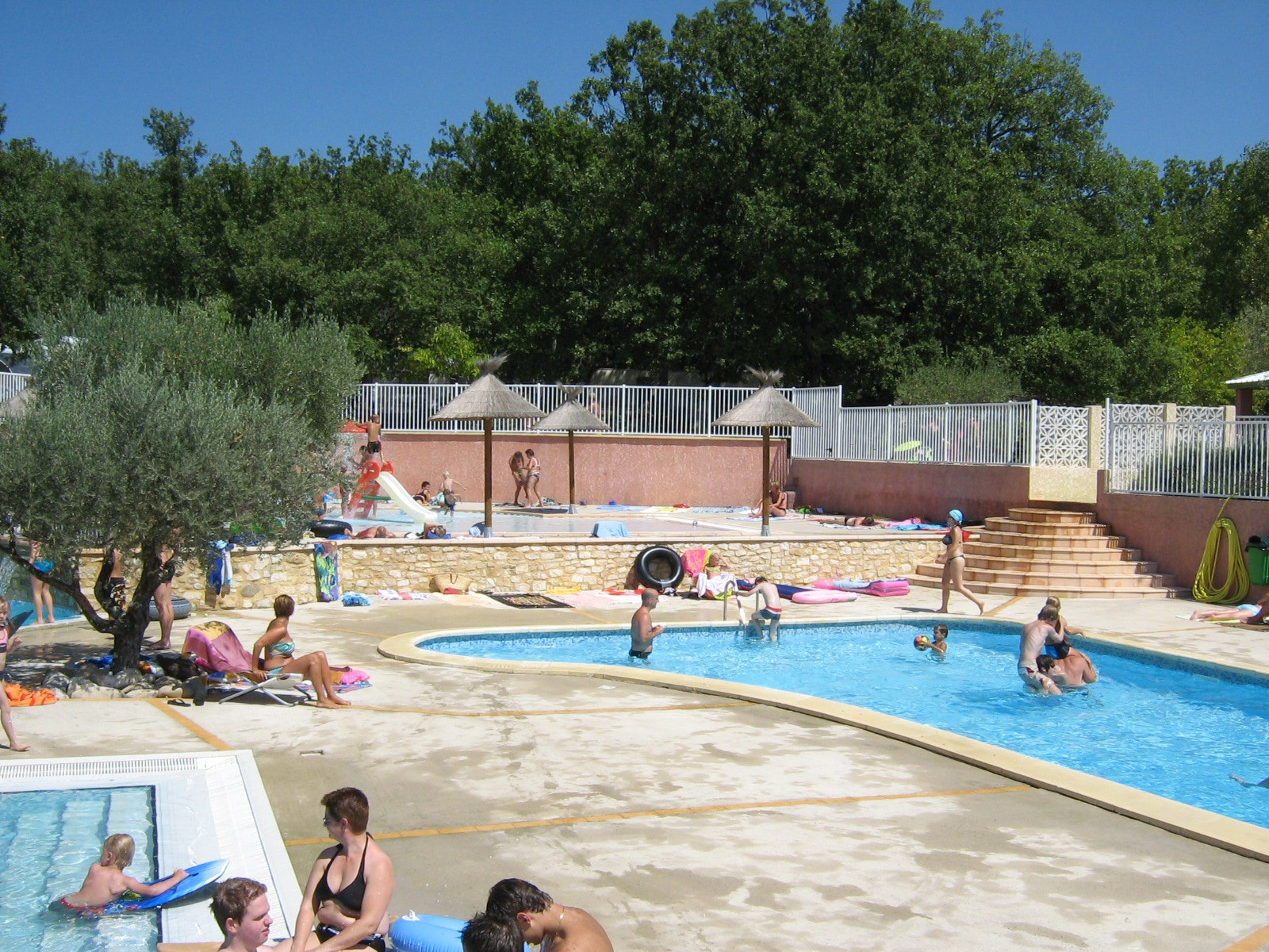 Zwembad camping Domaine de Labeiller