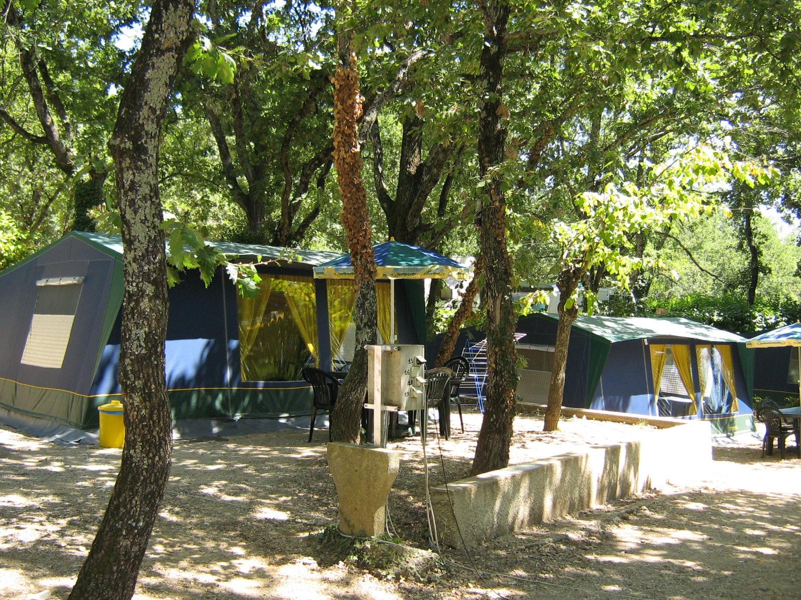 Bungalowtenten camping Domaine de Labeiller
