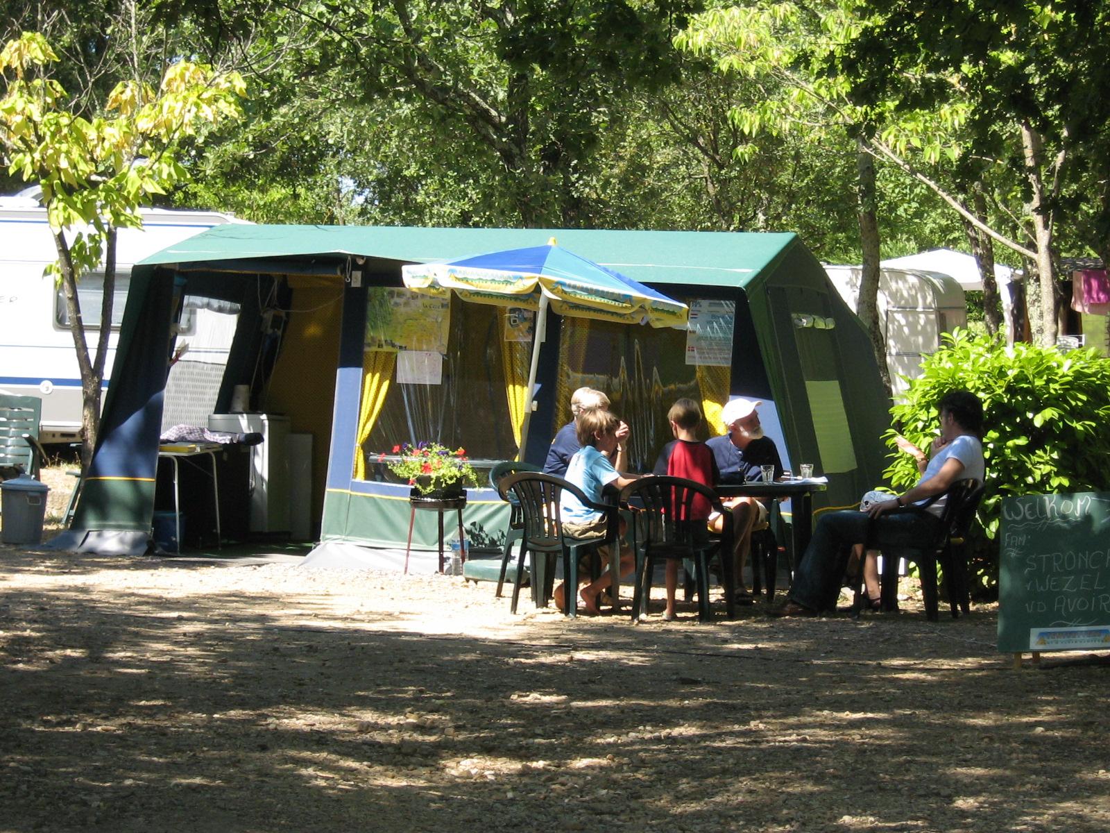 Camping Domaine de Labeiller Zuid Ardèche | Rent a Tent