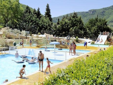 Buitenzwembad camping RCN Val de Cantobre