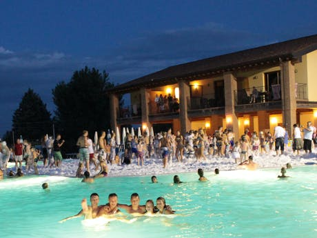 zwembad camping Piantelle