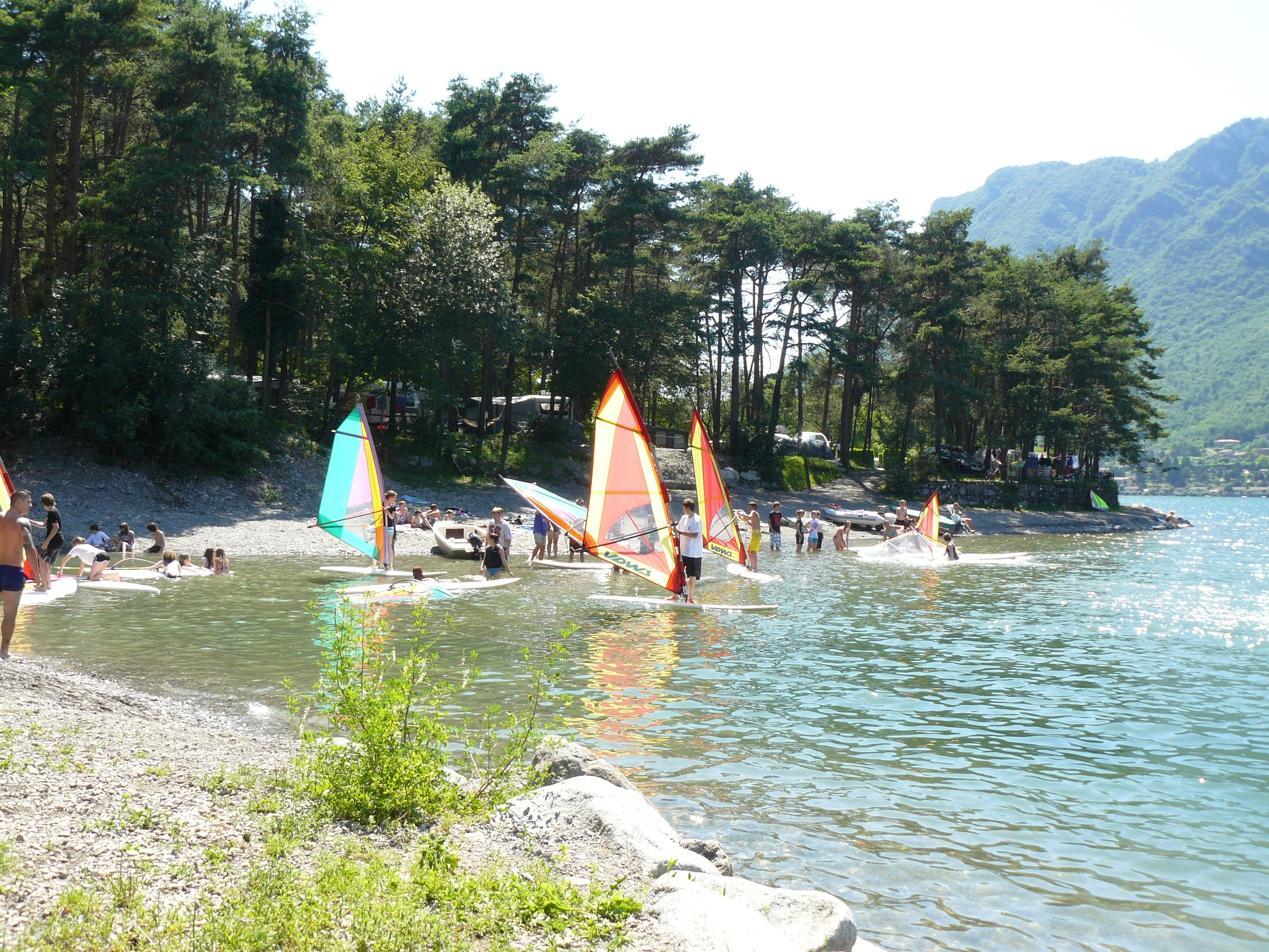 strand camping Rio Vantone