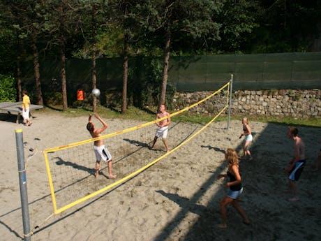 volleybal camping Rio Vantone
