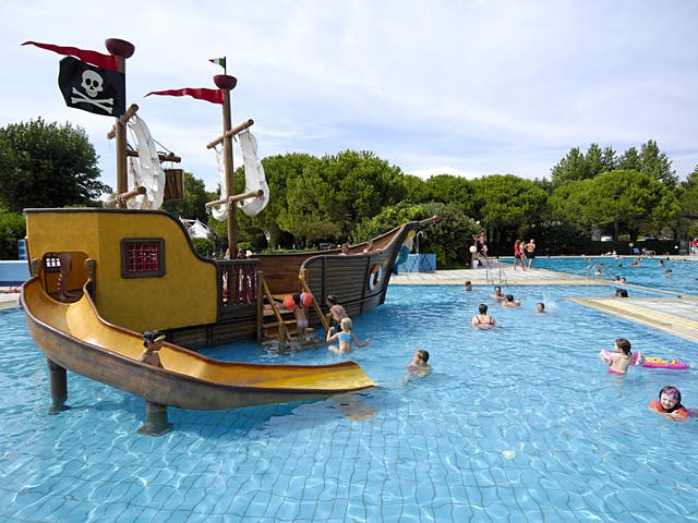Kinder zwembad camping Ca Savio