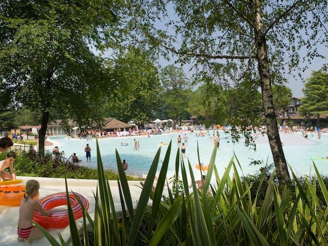 zwembad camping Altomincio Family Park