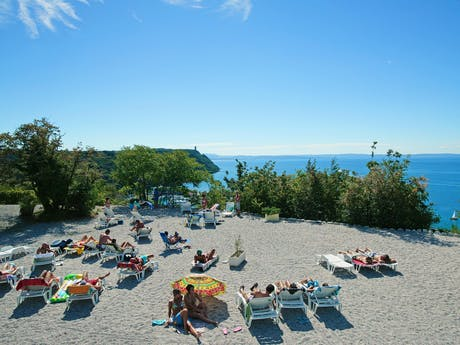 Strand camping Mare Pineta