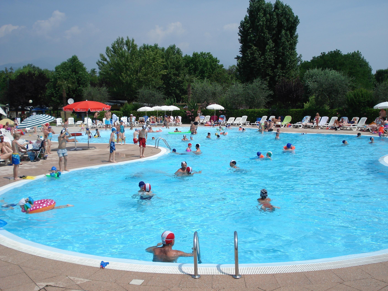 zwembad camping Europa Silvella