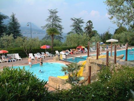 zwembad camping Eden