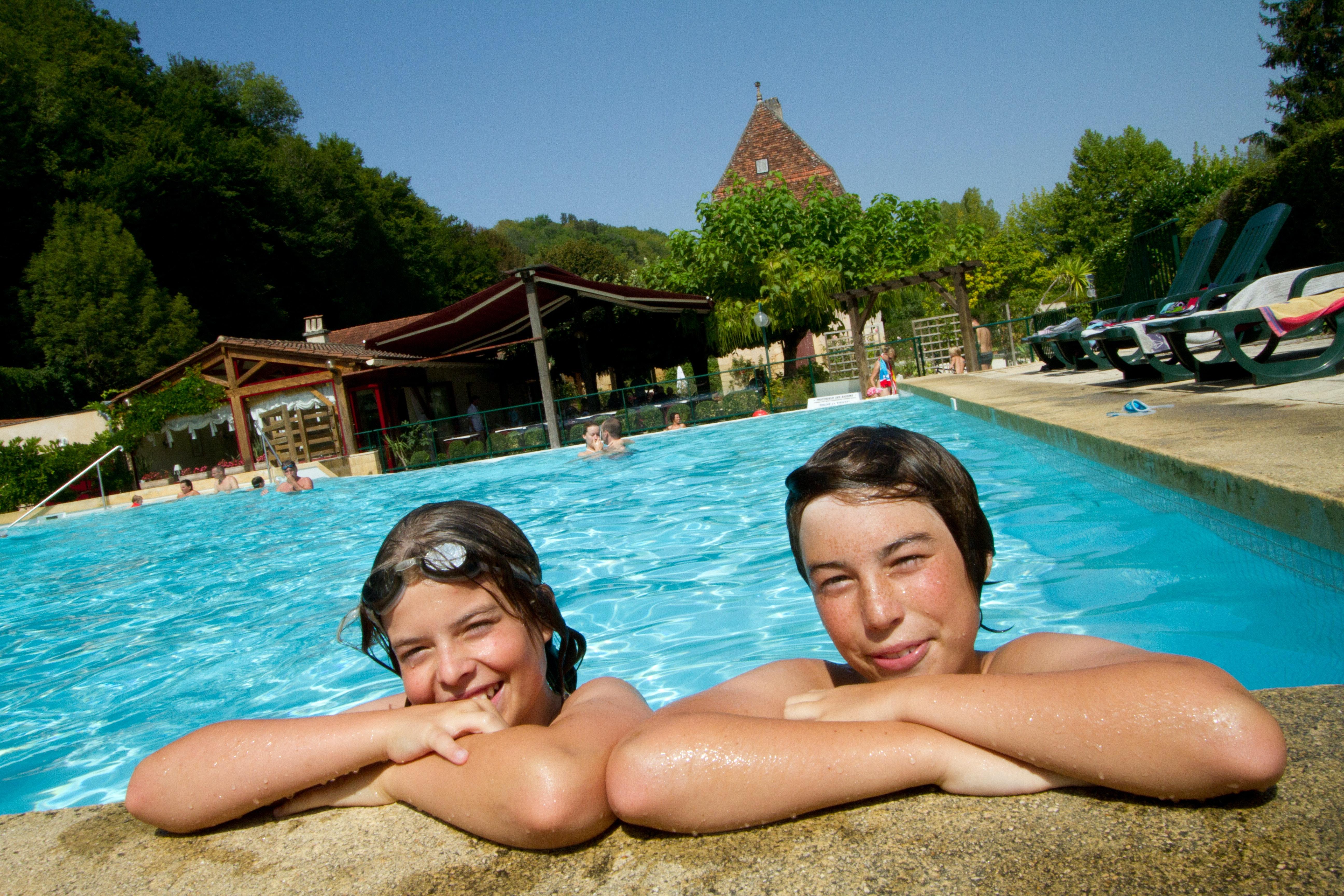 Zwemmen Camping La Riviere