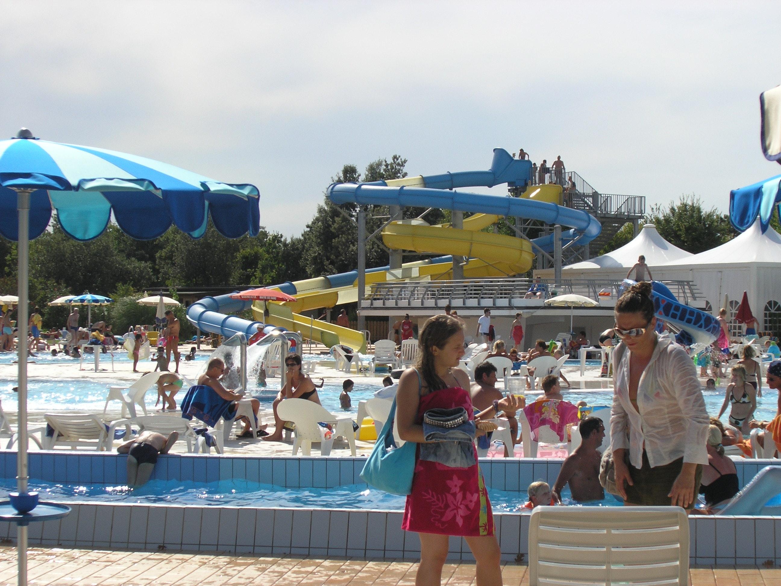 Zwembad camping Villaggio Europa