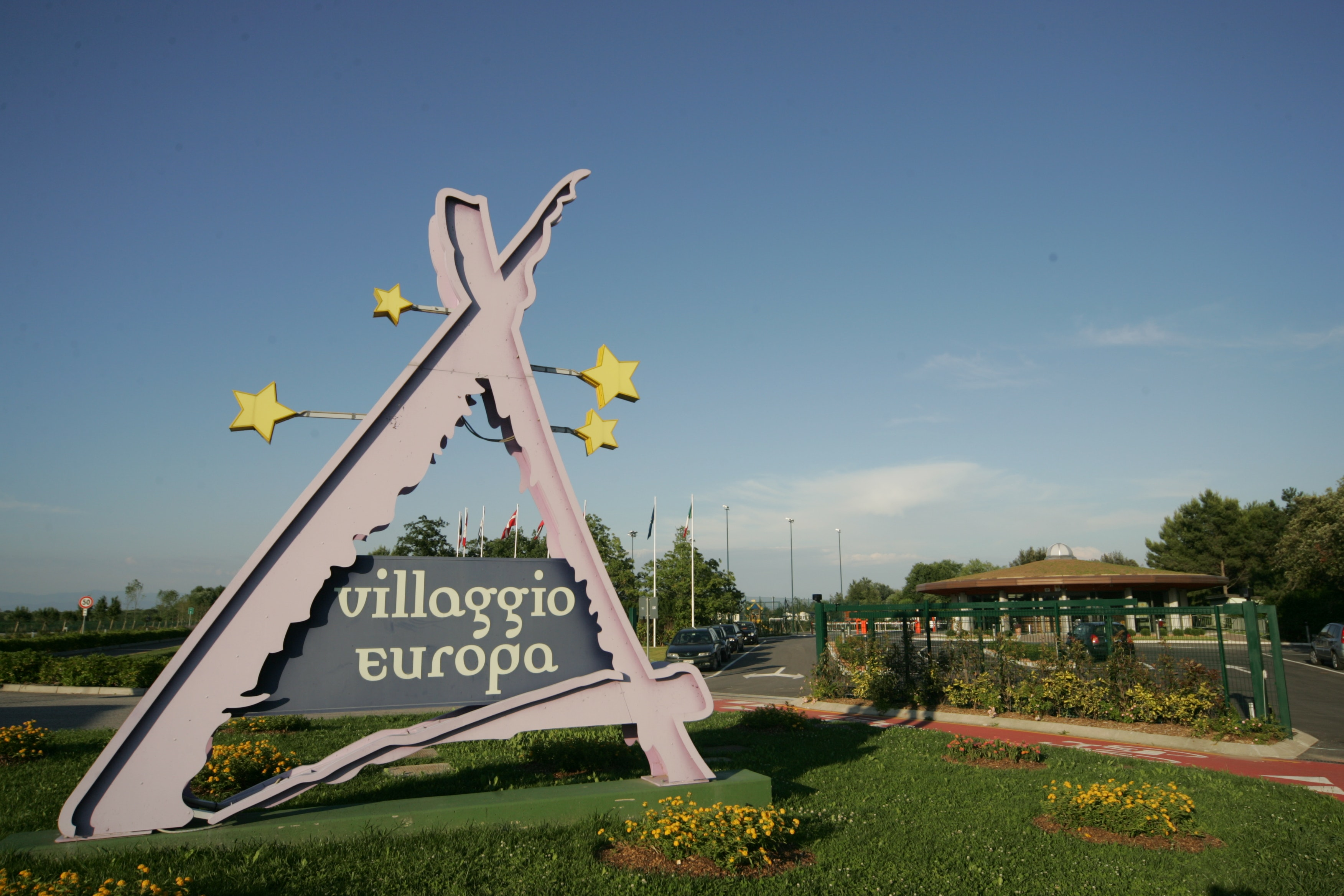 Entree camping Villaggio Europa