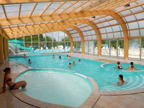Zwembad camping Fayolan