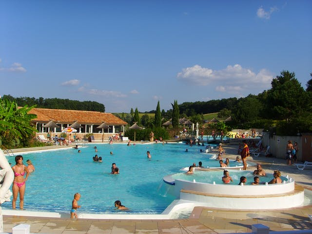 Zwembad Camping Lac des 3 Vallees