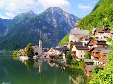 Hallstatt in Oostenrijk