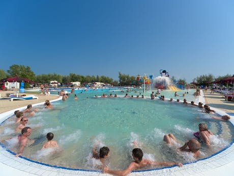 Zwembad camping Capalonga