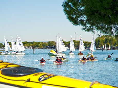 Watersport camping Capalonga