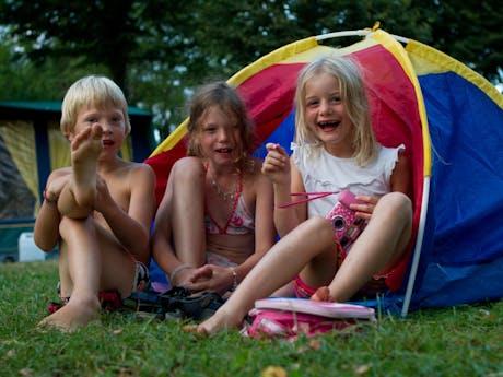 Camping Beauregard kindertentje Bungalowtent