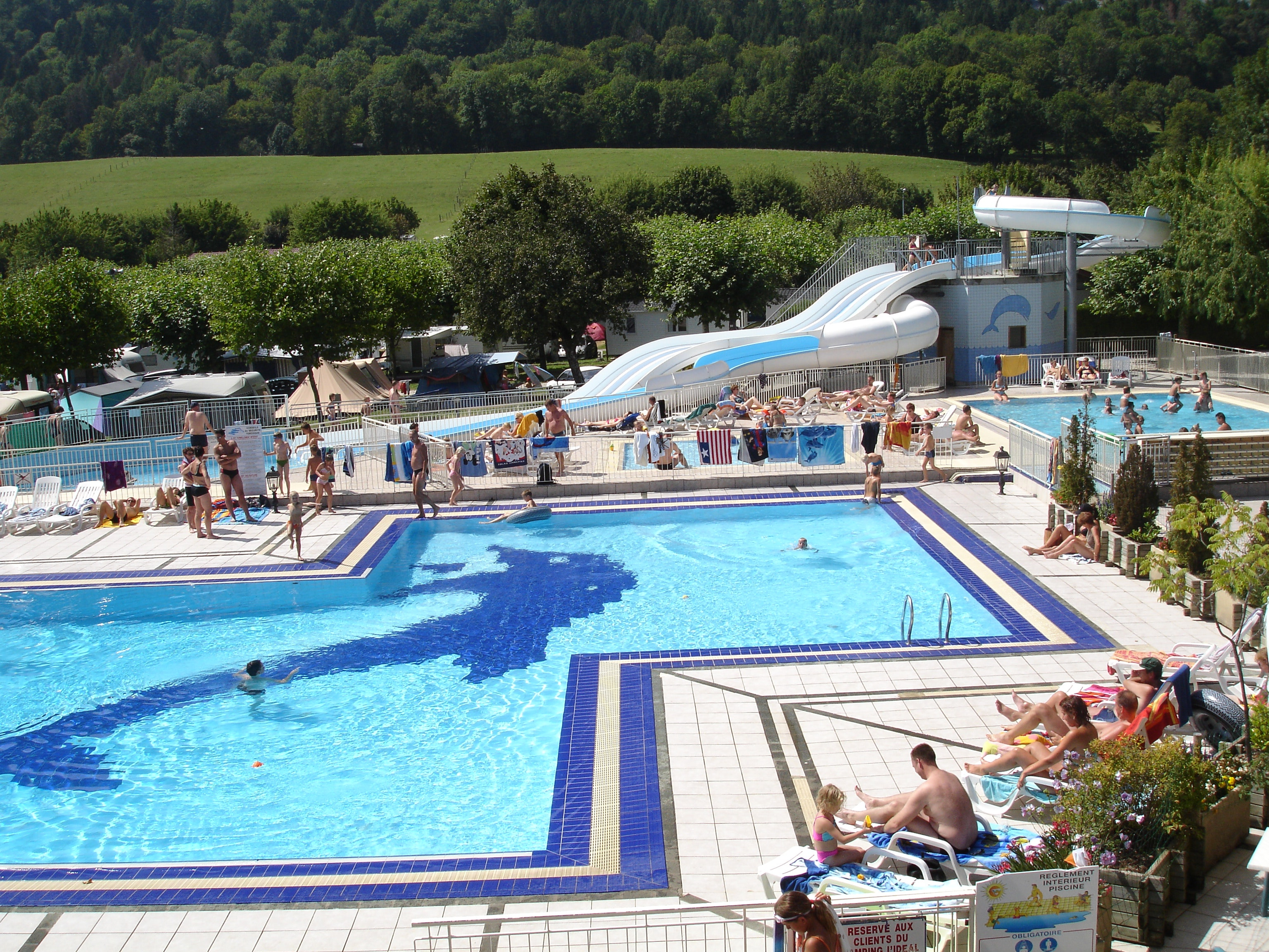 zwembad camping L-Ideal