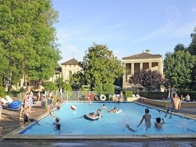 Zwembad Camping Moulin de la Pique