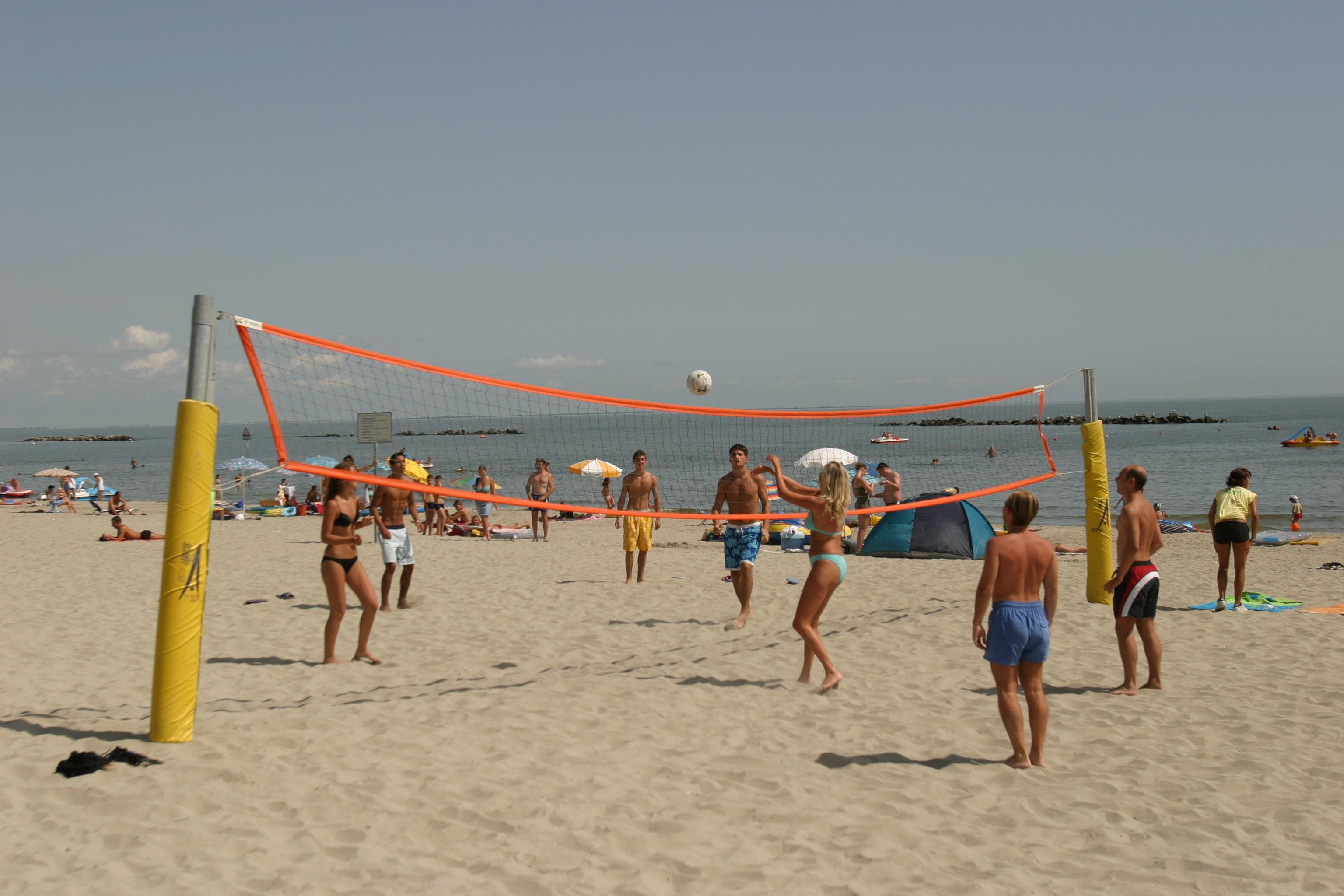 Beachvolleybal camping Spiaggia e Mare