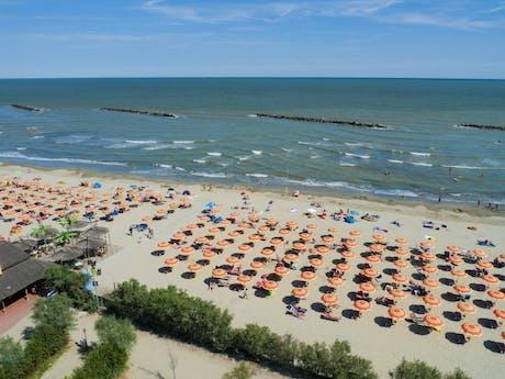 Strand bij camping Spiaggia e Mare
