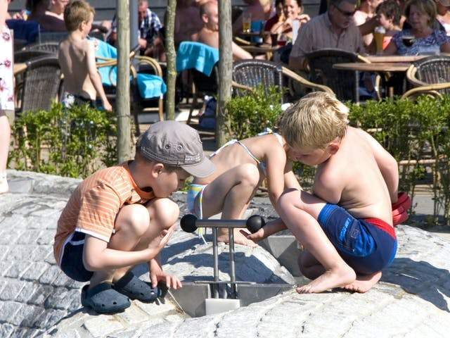 kinderen camping de Pekelinge